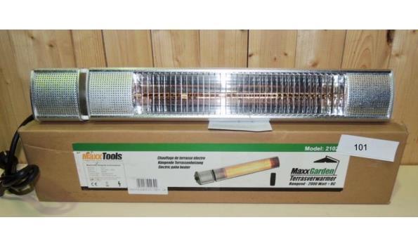 Terras heater type Hang 2000W defect