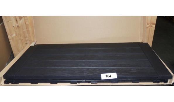 Opbergbox Woody afm. 120x46x H.58 inhoud 300ltr.Licht beschadigd