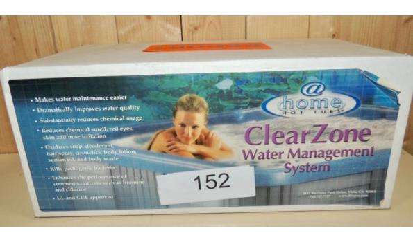 Water Mangement System Clear Zone @ Hometubs fabr. Dimension one Spa's