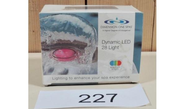 28LED Dynamic Light fabr. Dimension one Spa's type 01512-0018A