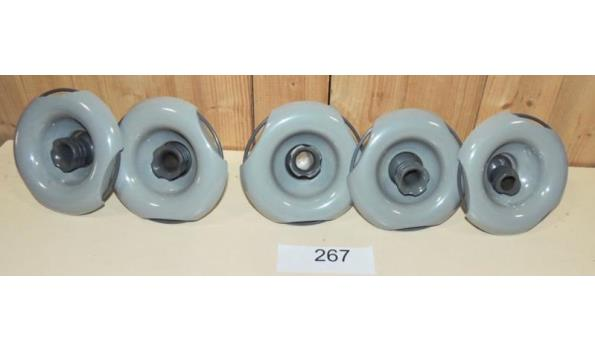 5 x Ring Jet voor Jacuzzi fabr. Dimension one Spa's