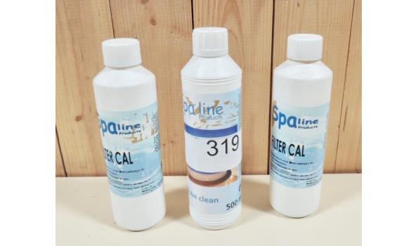 2 fl. Filter Cal en 1fl. Tube Clean