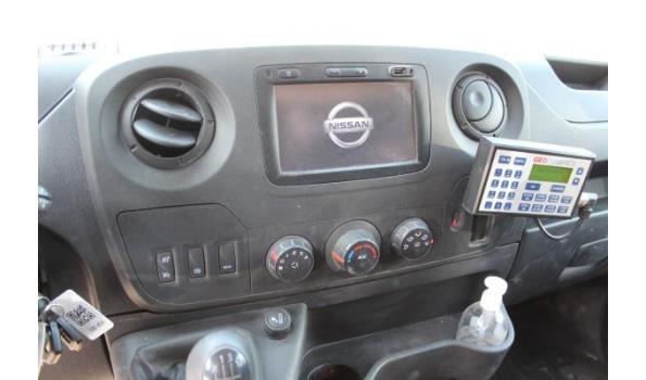 open lichte vrachtwagen NISSAN NV400, diesel, 2299cm³, 107kW, 1e inschr 06/11/2018, chassisnr VNVM2000261475514, 51.838km, CO²-uitstoot 222g/km, EURO VI, compl met kentekenbewijs DEEL I+II, gelijkvormigheidsattest, 2sleutels, keuring tot 15/11/21,