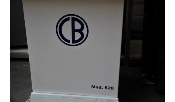 industriële kraag en manchetpers BARBANTI, model 520