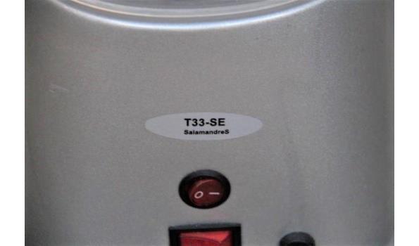 stoomapparaat SALAMANDRES, type T33-SE