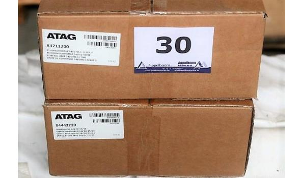 2 diverse stuurautomaten ATAG