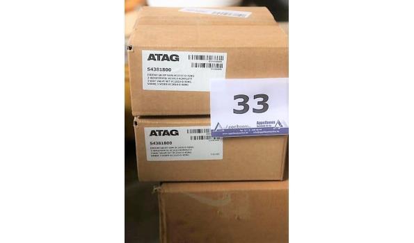 2 driewegkleppen ATAG S4381800