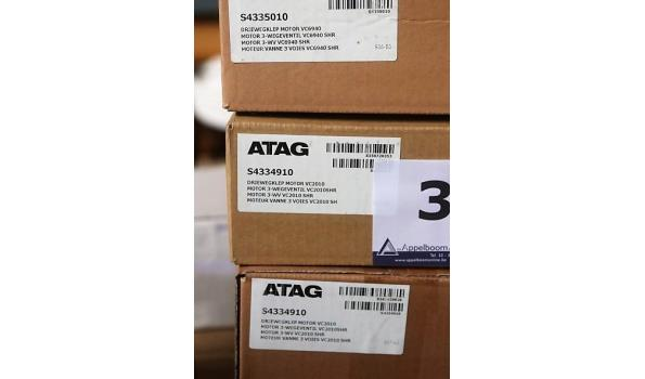 lot diverse driewegkleponderdelen ATAG