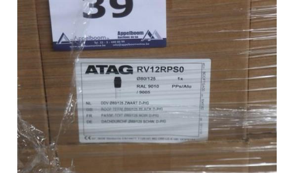 8 dakdoorvoeren ATAG dia80/125