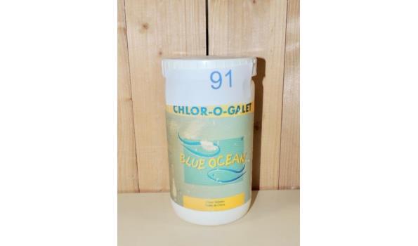 5 Chloor tabletten fabr. Blue Ocean