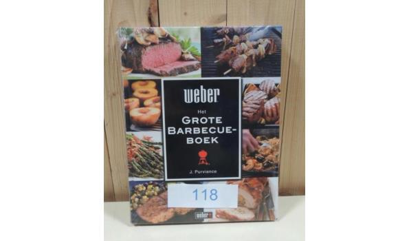 Het Grote Barbecue Boek fabr. Weber