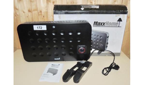 Convector heater 1250-2000W. Turboventilator-Thermostaat. Timer werkt niet goed