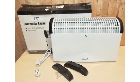Convector heater 750-1250-2000W Beschadigd