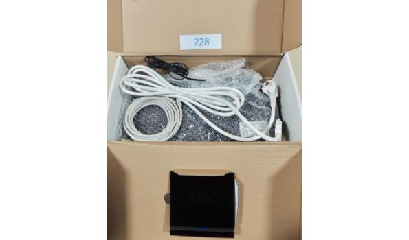 Sturing voor infra rood sauna fabr. Fysiotherm type Touch 2 generation Supply1 + 2 generation