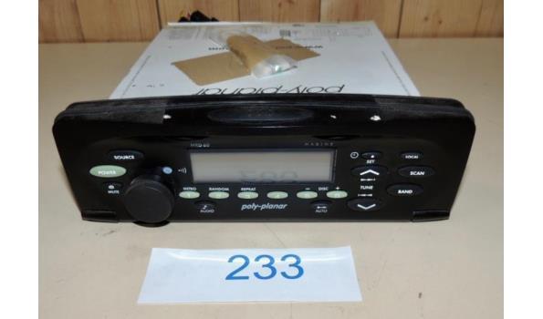 Inbouw Radio fabr. Poly Planar type Maritieme MRD60