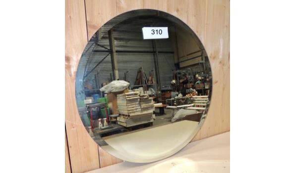 Spiegel facet geslepen diameter 60 cm