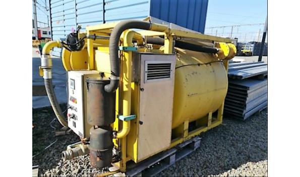 vacuumpomp SPIMAT voor lediging tanks