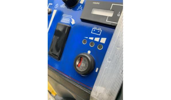 schrobzuigmachine NILFISK BA 750SC, werking niet gekend