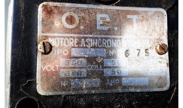 kolomboormachine OBT plus 2-steensgereedschapsmachine