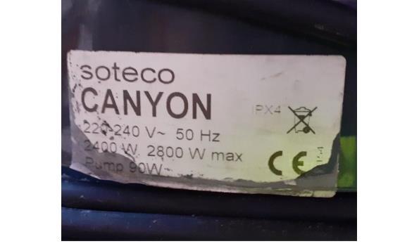 2 industriele stofzuigers SOTECO Canyon