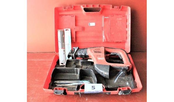 accu reciprozaag HILTI WSR 36-A, zonder batterij