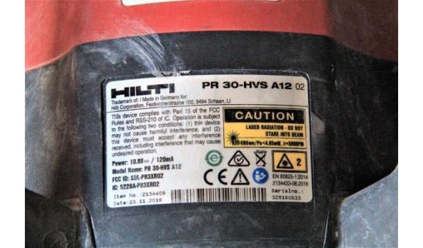 roterende niveleerlaser HILTI PR30-HVS