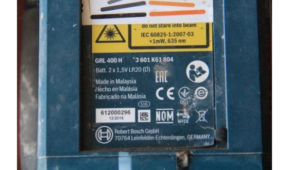 rotatielaser BASCH GRL 400H