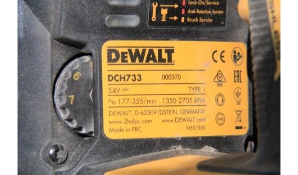 accu breekhamer DEWALT DCH733,