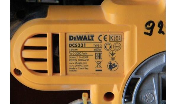 decoupeerzaag EWALT DCS331, 400w