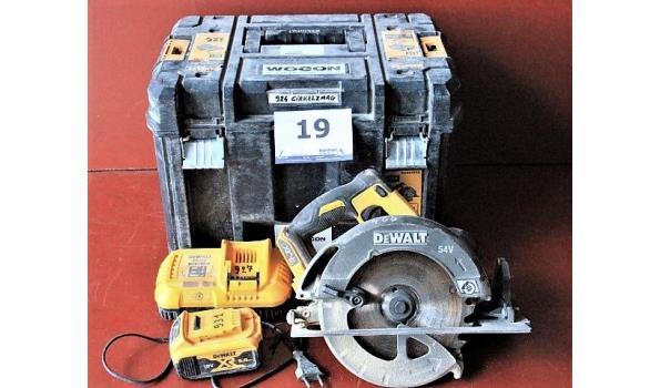 accu cirkelzaagmachine DEWALT DCS575