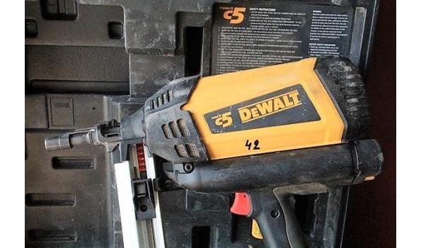 gasshiethamer lang magazijn DEWALT 5110500 C5, nagellengtes 15-40mm