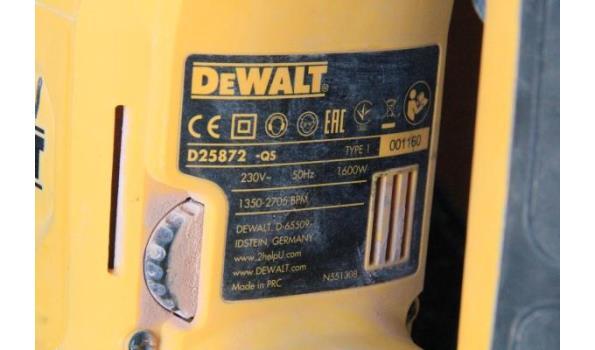 boor/breekhamer DEWALT D25872 qs, 1600w, 230v