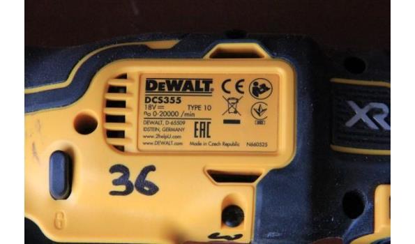 multitool DEWALT DCS355, 18v