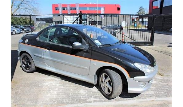 personenwagen PEUGEOT 206cc, diesel, cm³ ng, kW ng, 1e inschr ng, chassisnr VF32DMFUF43723233, 172768km, CO²-uitstoot ng, Euro ng, compl met:  ZONDER BOORDDOCUMENTEN, 2sleutels,