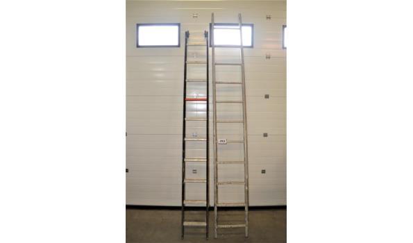 2 alu ladders