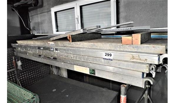 5 aluminium steigerplanken