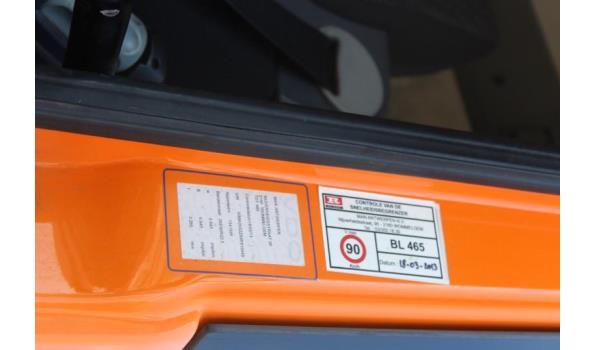 containervrachtwagen MAN TGS 26.360 6x4,diesel,10516cm³,264kW,1e inschr 12/08/09,chassisnr WMA26SZZ89P018449,km niet gekend-laatste km volgens keuring 04/03/21: 166000km,CO2-uitstoot: ng,EURO5, kenteken,gelijkvormigheidsattest,1sleutel,keuring tot 16/10/21