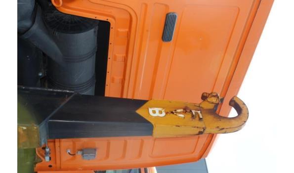 containervrachtwagen MAN TGS 26.360 6x4,diesel,10516cm³,264kW,1e inschr 10/06/09,chassisnr WMA26SZZX9M546219,km niet gekend-laatste kms volgens keuring 03/8/20: 176783km,CO2-uitstoot: ng,EURO5,kenteken,gelijkvormigheidsattest,1sleutel,keuring tot 20/7/21