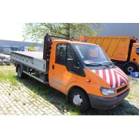 open lichte vrachtwagen FORD TRANSIT 90 T350 1,7LDC2, diesel, 2402cm³, 66kW, 1e inschr 15/06/2006, chassisnr WFOAXXTTFA6Y03130, 32205km, CO²-uitstoot ng, EURO3, compl met kenteken, gelijkvormigheidsattest, 1sleutel, keuring tot 11/07/21,