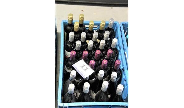 plm 30 flessen diverse wijnen