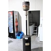 verrijdbare patioheater op gas, 12Kw