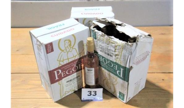 19 flessen rosé wijn  PEGOES 2019