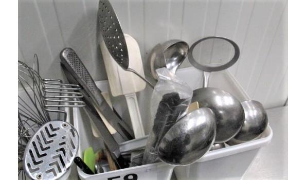 lot div keukenbenodigdheden