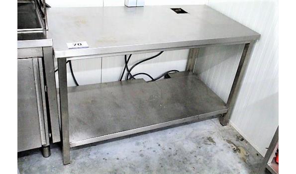rvs werktafel