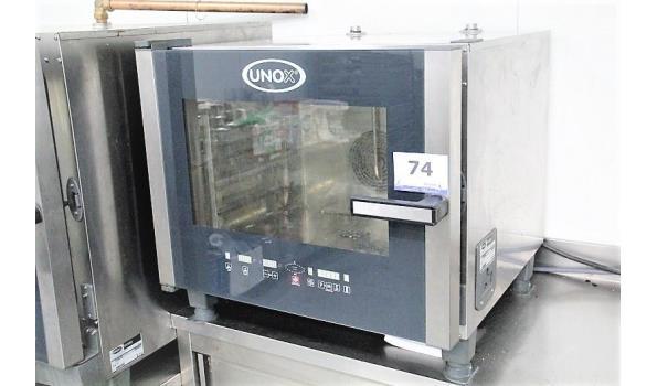 prof combi-oven UNOX XVC305E, 6Kw, 220-240v
