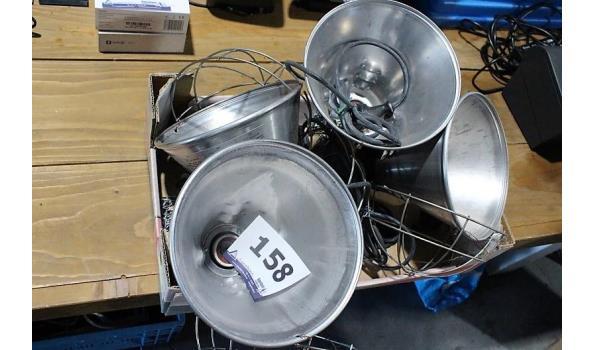 4 warmhoudlampen