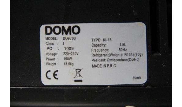 zelfvriezende ijsmachine DOMO KI-15, 15w