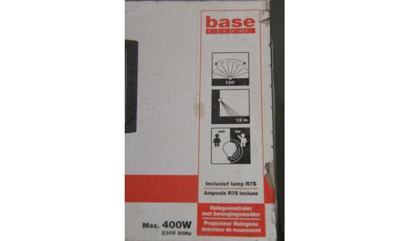 2 halogeenlampen vv sensor BASE LINE 400w