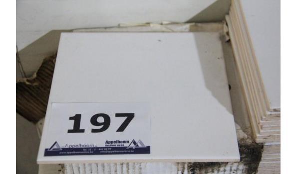 16 dozen à 15 tegels