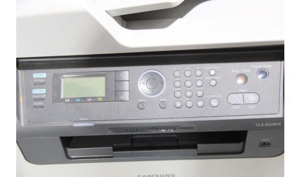 all-in-one printer SAMSUNG CLX-6220FX